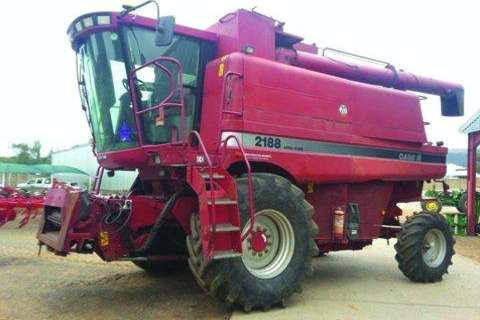 Combine Harvesters and Harvesting Equipment Case 2188- 2003