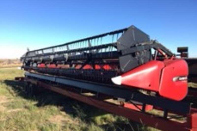 Case Terra Flex Combine harvesters and harvesting equipment