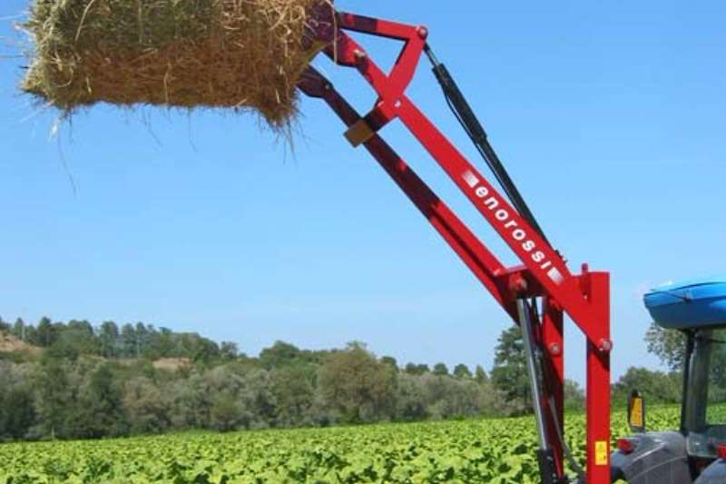Enorossi Hydraulic Bale Loader Combine harvesters and harvesting equipment