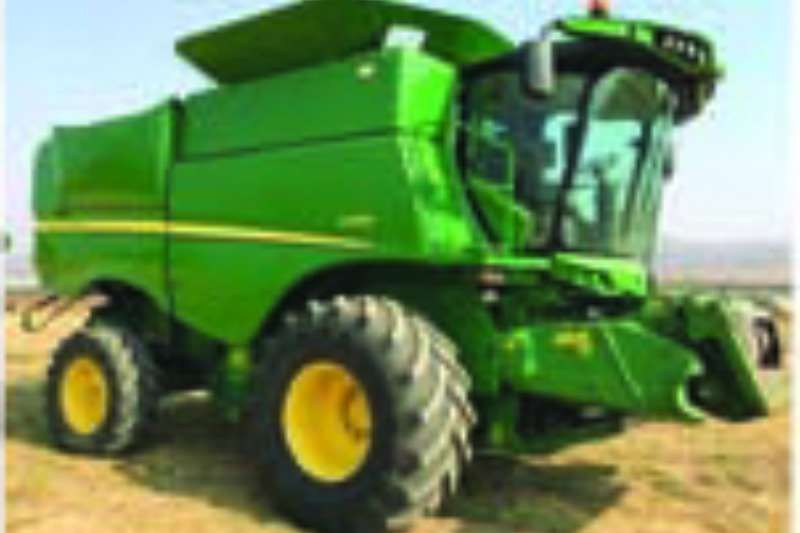 John Deere Grain harvesters S660 Combine harvesters and harvesting equipment