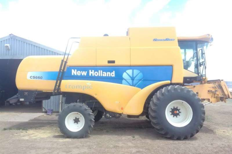 New Holland Other combine harvesters and harvesting equipment New Holland CS 660 Combine Combine harvesters and harvesting equipment