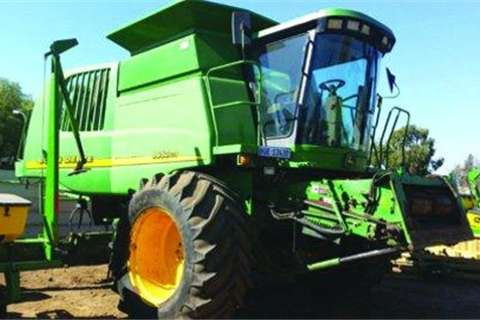 Case 9650CTS Combine- Combines & harvesters