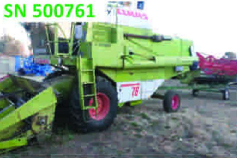 Combines & Harvesters Claas Dominator 76 1985