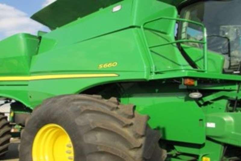 John Deere S 660 Combines & harvesters