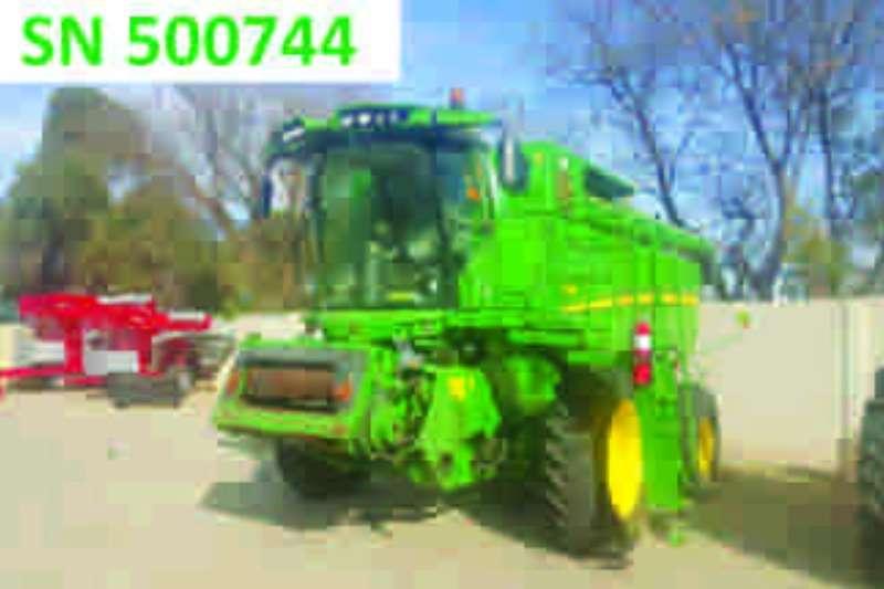Combines & Harvesters John Deere S660 4x4 2012