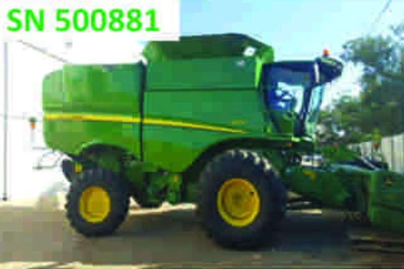 John Deere S670 Combines & harvesters