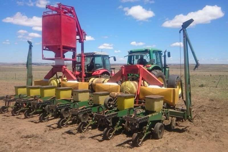 Massabak planter verdeler Combines & harvesters