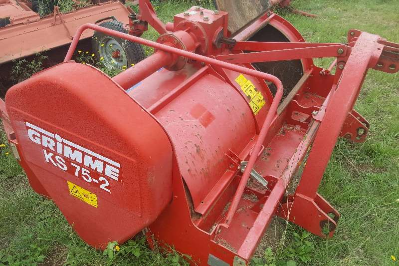 Rotary cutters Grimme Rotovator Cutters and shredders