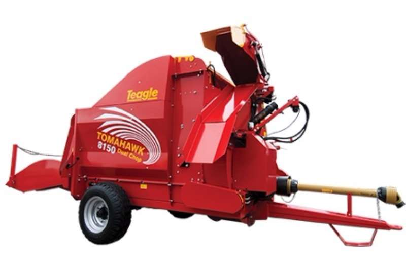 Taegle Bale shredders Tomahawk 808 Dual Chop Bale Shredder Cutters and shredders