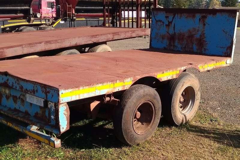 2 x Axle Pup Trailer Farm trailers