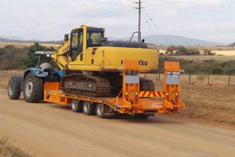 Chieftain 3 Axle Agri Drawbar Low Speed Farm trailers