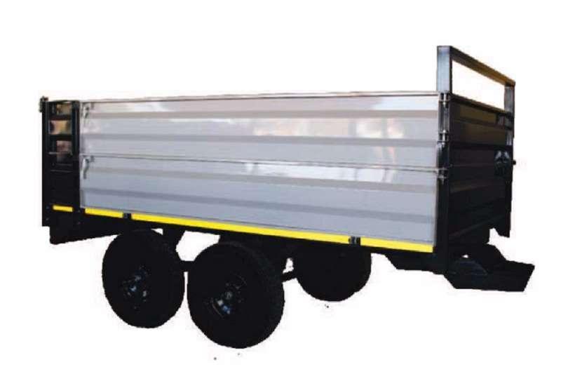 Dicla Tipper 6 ton Farm trailers