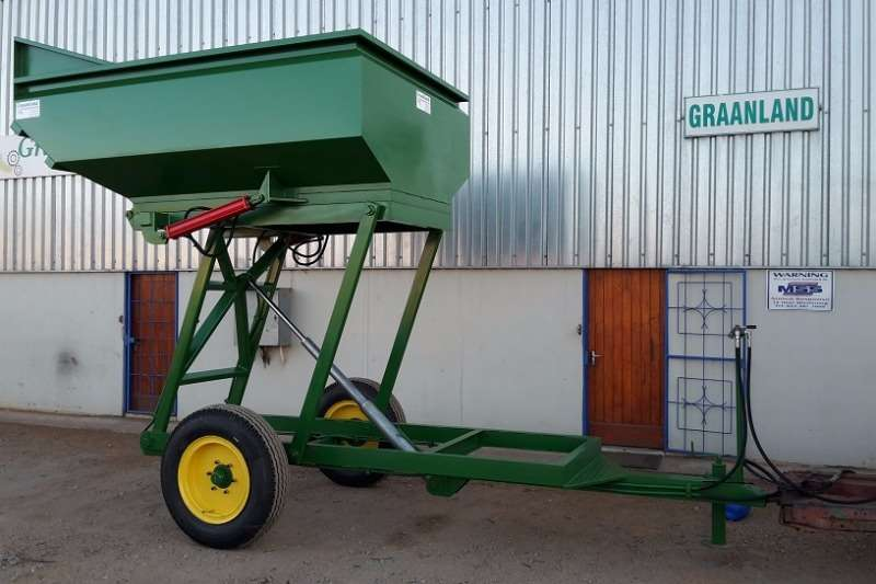 Graanland 4 Ton Scissor Type Tip Trailer - Parswa Farm trailers