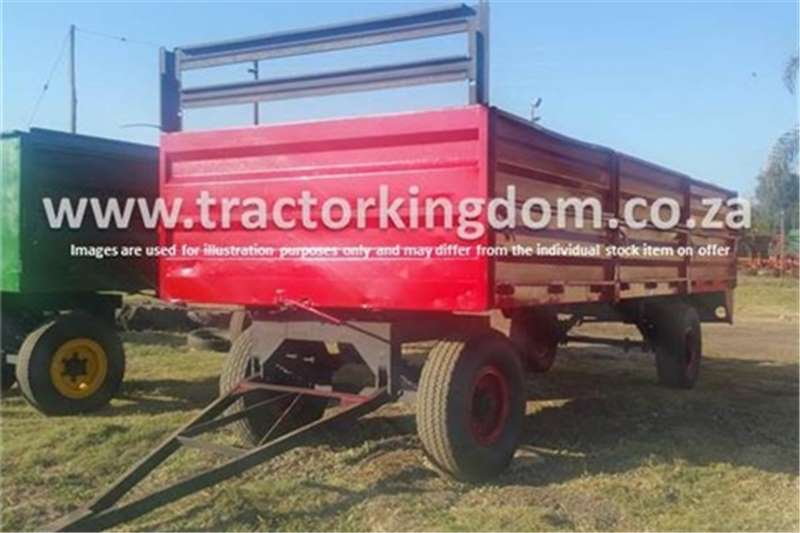 Farm Trailers Other 10 Ton Trailer (Red) 0