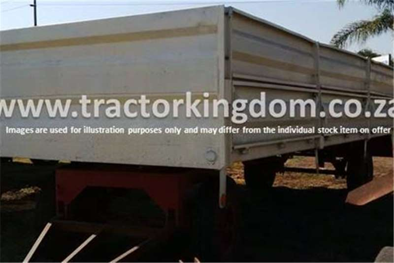 Farm Trailers Other 10 Ton Trailer (White) 0