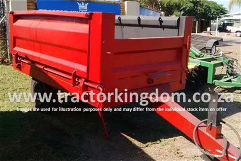 Farm Trailers Other 2 Ton Side Tipper Trailer In Pretoria 0