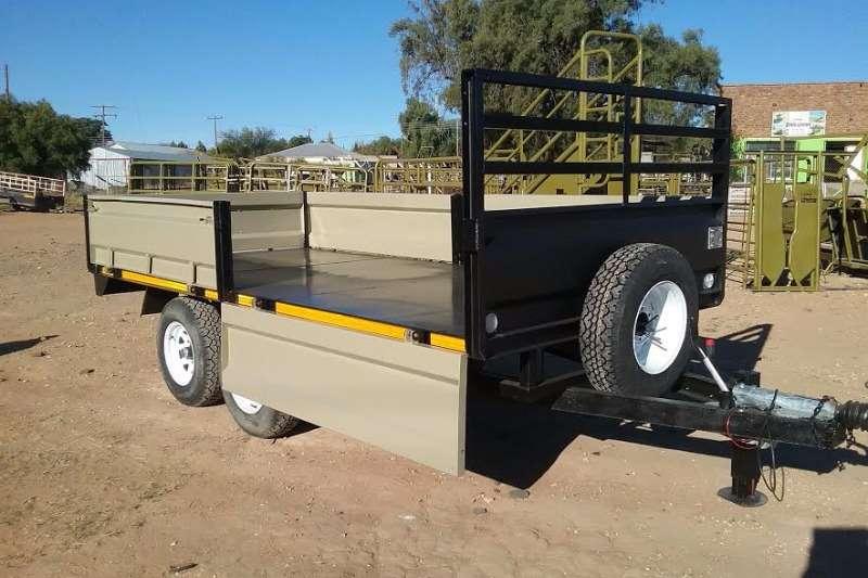 Other 2 TON YSTERVARK 1.8M X 4M WA MET KLAPPE Farm trailers