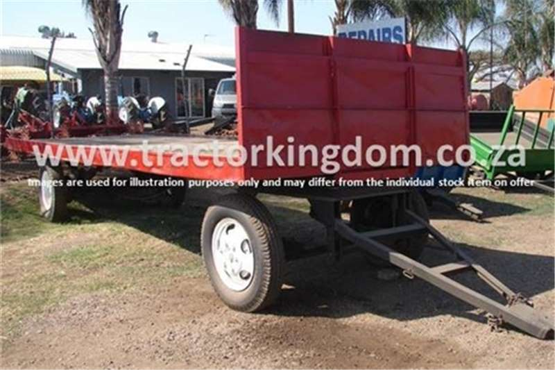 Farm Trailers Other 4 Wheel Double Axle  0