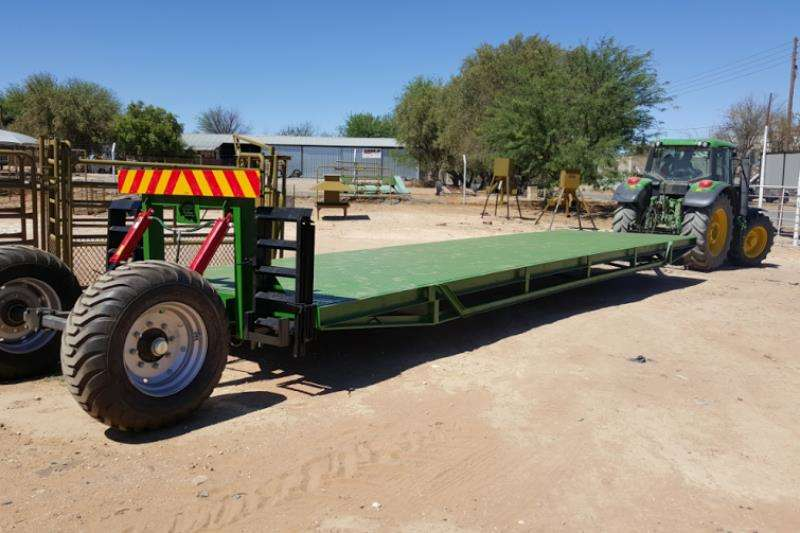 Other 8 TON YSTERVARK 9M X 2.6M LOWBED WA Farm trailers
