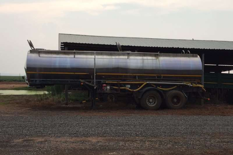 Other double axle stainless tanker trailer Farm trailers