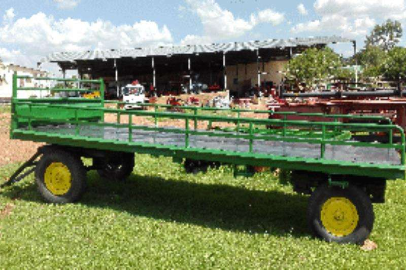 Other Farm Trailer Flat Bed, Double Axle Farm trailers