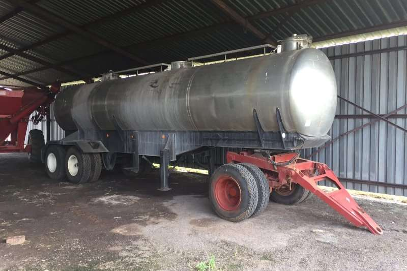 Farm Trailers Other Stainless trailer met dolly 17 000L 0
