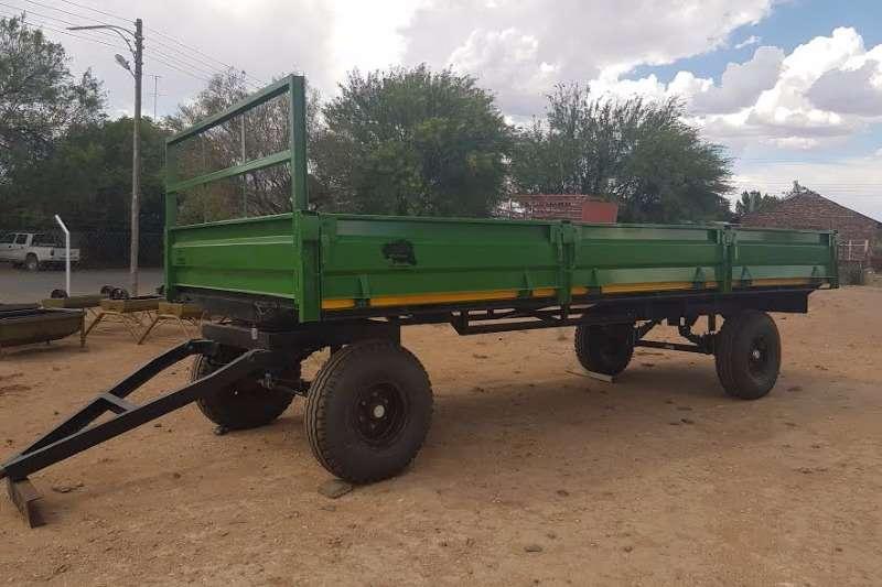 Other YSTERVARK PLAASWA MET KANTE Farm trailers