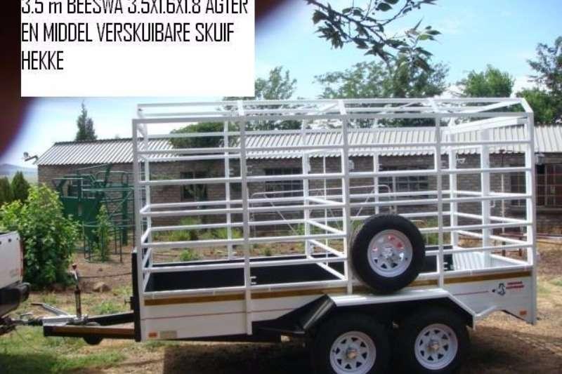Vencedor 3.5 meter Cattle Trailer Farm trailers
