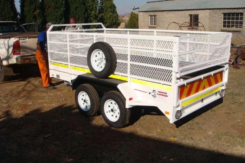 Vencedor 3 ton with Flatex Trailer Farm trailers