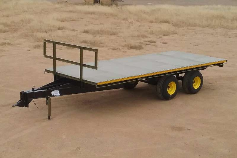 Farm Trailers YSTERVARK DUBBEL AS PLATBAKWA 0