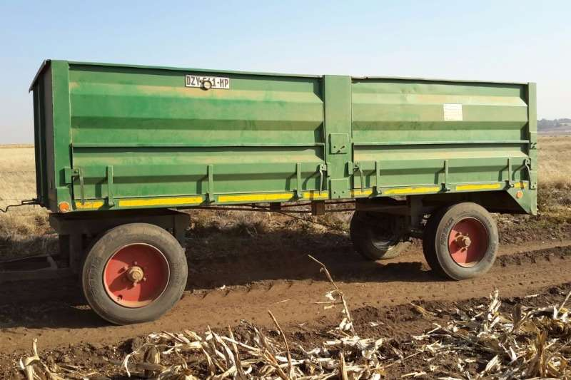Other 2x 10ton Massawaens ligte+ padwaardig Feed wagons