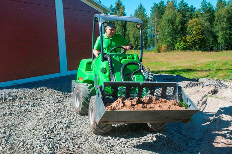 Avant Basic attachments 4 in 1 Bucket Front end loader