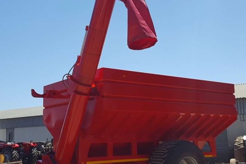 Grain Handling Equipment Graanland 23m³ Grain Cart - Aftapkar 2017