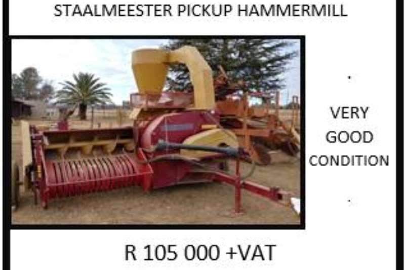 LM Other hammer mills Staalmeester Pickup Hammermill Hammer mills