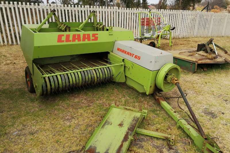 Hay and Forage Claas Balers CLAAS Markant 65 0