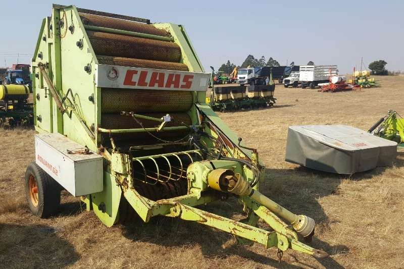 Hay and Forage Claas Balers Claas Rollant 62 0