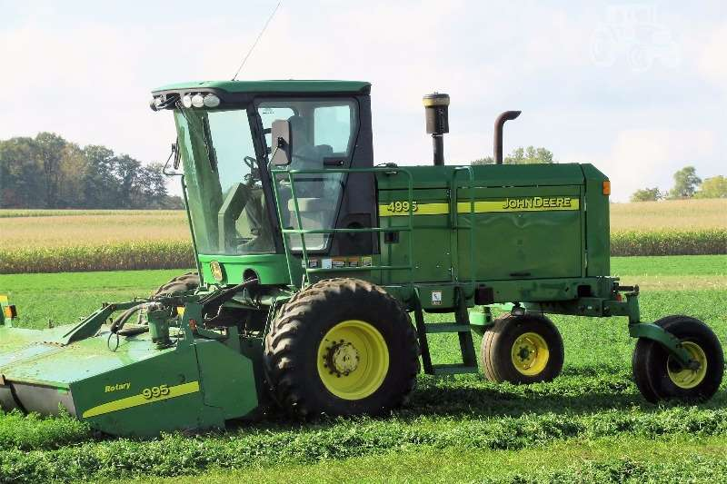 John Deere Windrowers Hay and forage