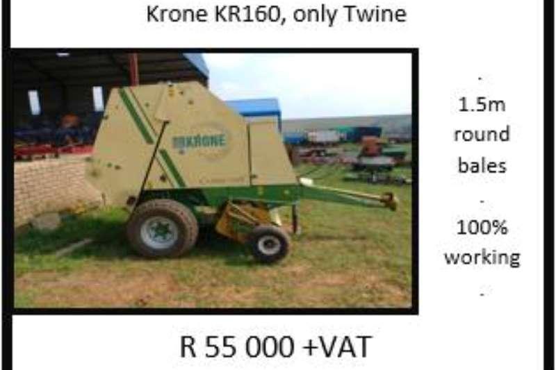 Krone Balers Krone KR 160 Hay and forage