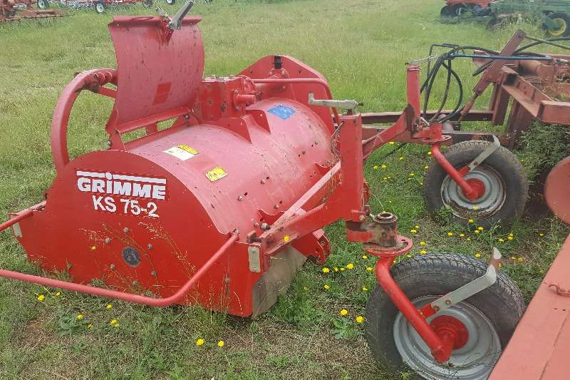 Hay and Forage Other Rakes Grimme Rotovator 0