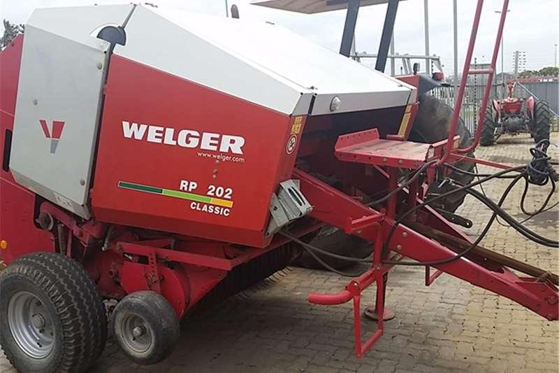 Hay and Forage Welger Balers RP 202 WELGER BALER 0