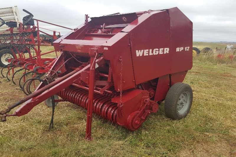 Hay and Forage Welger Balers RP12 0