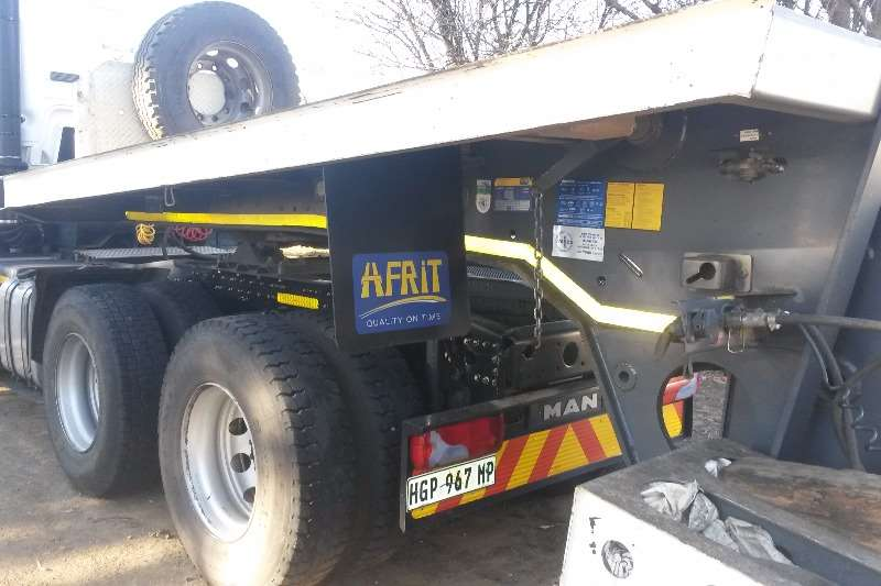 AFRIT Gooseneck Lowbed trailer Tri Axle High speed trailer