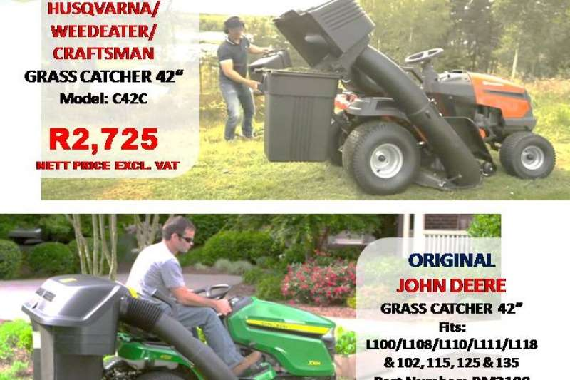 GRASS CATCHERS Lawn equipment