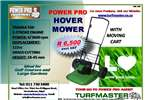 Lawn Equipment Lawnmowers POWER PRO HOVER MOWER WITH MOVING CART 0