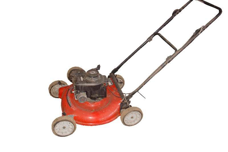 Push Mower with Briggs & Stratton engine Lawn equipment