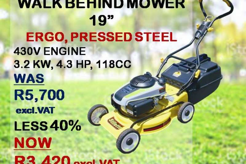 STILLETTO LAWNMOWERS Lawn equipment