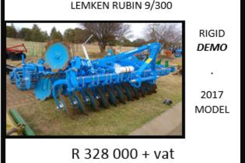 LEMKEN Lemken Rubin 9/300 rigid