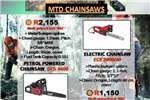 Machinery MTD CHAINSAWS 0
