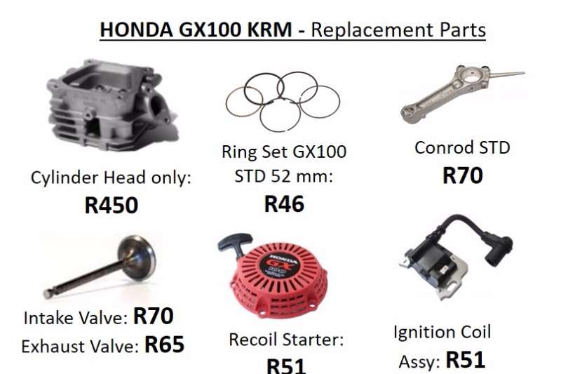 HONDA ENGINES REPLACEMENT PARTS. Other