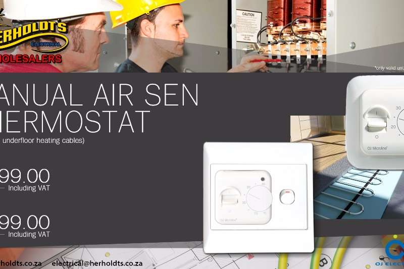 MANUAL AIR SEN THERMOSTAT Other